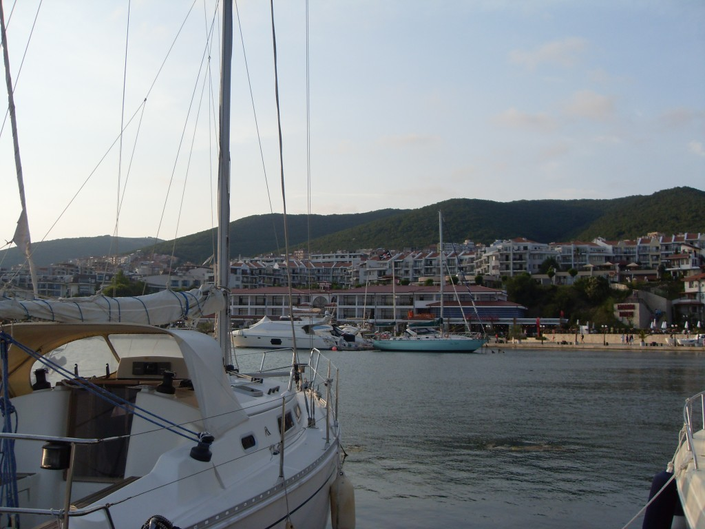 View of Dinevi Marina