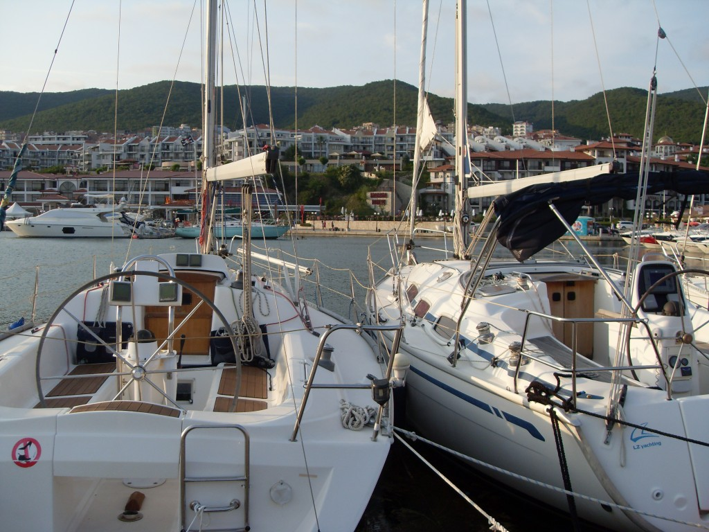 View from Marina Dinevi