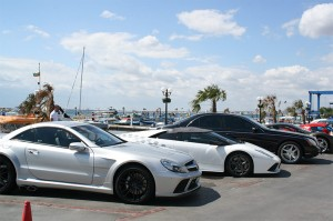 Mercedes, Lambourghini and Maybach