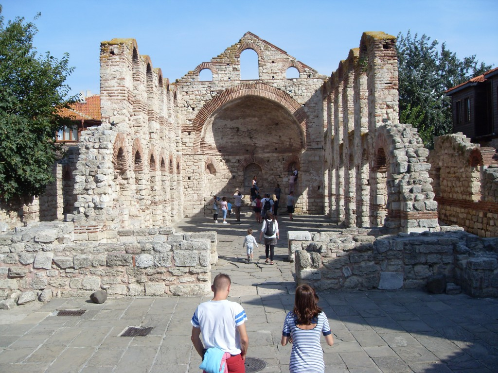 Church ruins Old Nessebar