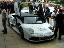 Lambourghini rally car