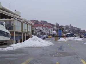 Snow at Vlas Marina