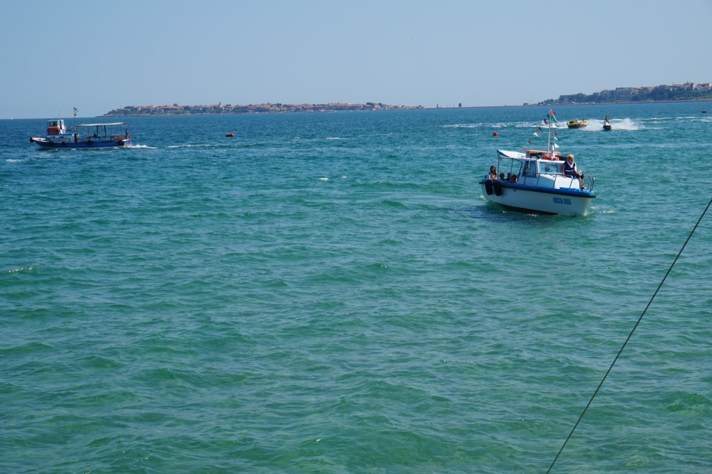Boat from Nessebar to Sunny Beach