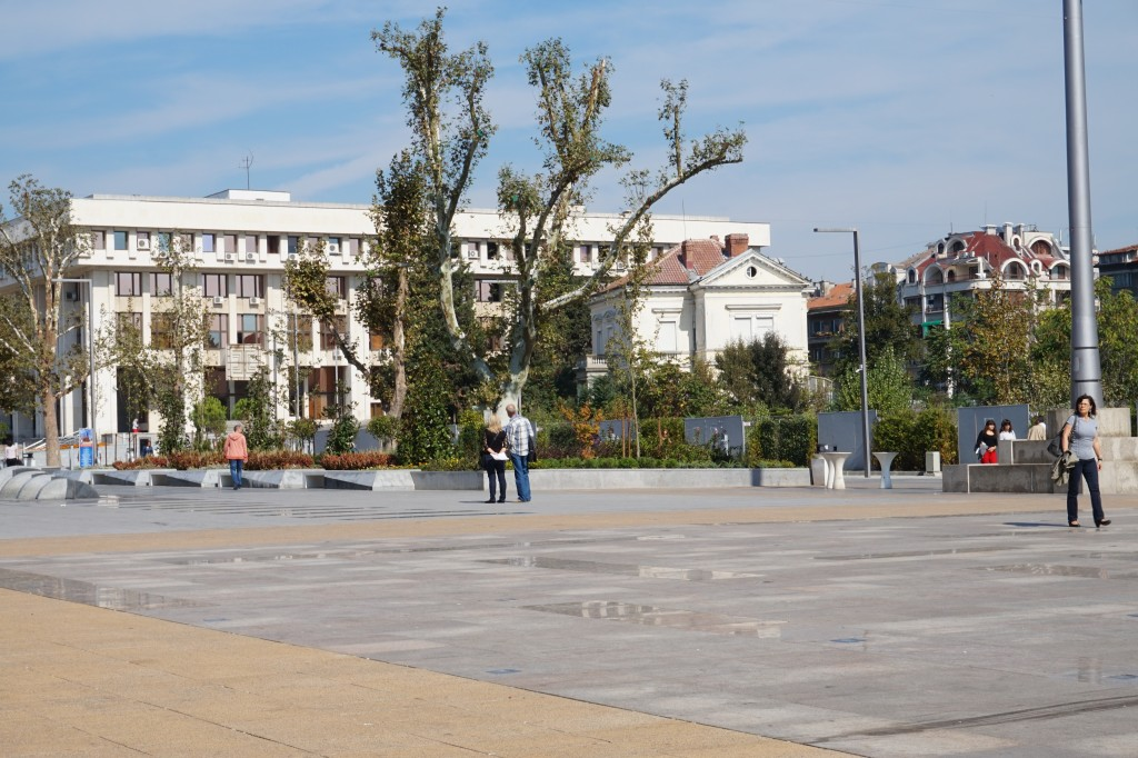 Square in front of municipal building