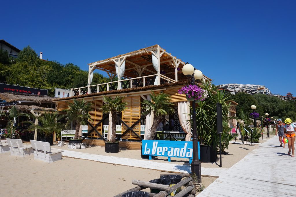 Recently re-built La Veranda Restaurant