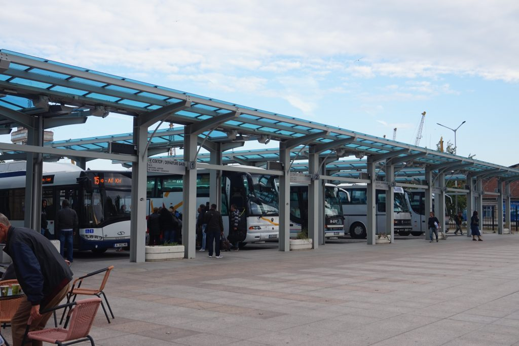New bus station Bourgas